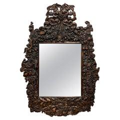Early 20th Century Dutch Framed Mirror