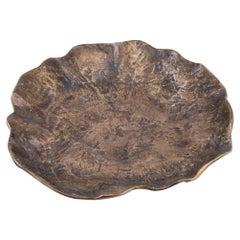 Big Size Brutalist Solid Bronze Vide Poches, France 1970's