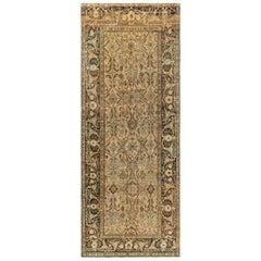 Authentic Persian Bidjar Botanic Handmade Wool Rug