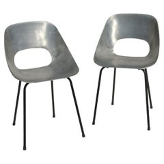 """""""Tulipe"""" Tonneu Pierre Guariche Design Chair"""