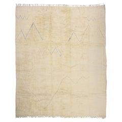 New Contemporary Berber Moroccan Rug with Minimalist Bohemian Style
