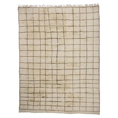 New Contemporary Berber Moroccan Rug with Modern Bauhaus Style