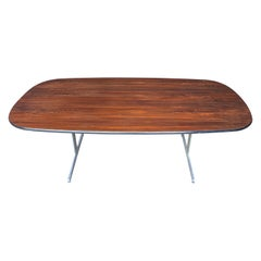 George Nelson for Herman Miller Conference/Dining Table in Rosewood
