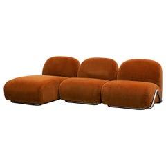 Tacchini Victoria Modular Sofa with Tibouchina 07 Upholstery by David/Nicolas