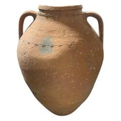 19th Century Small Terracotta Water Vessel