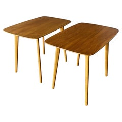 Pair of Swedish Side Tables by Tinqstromsp Valdemarsvik