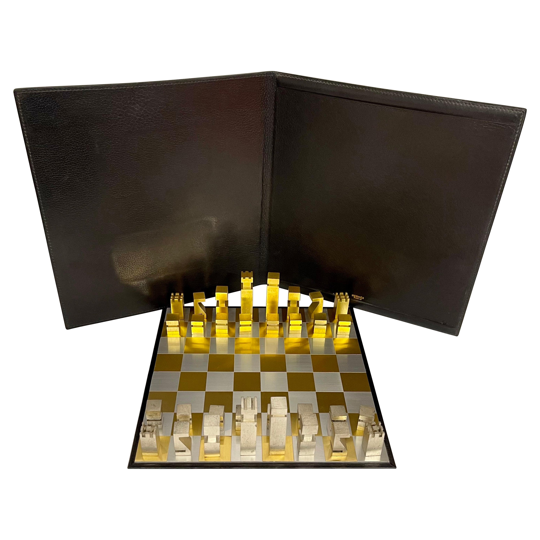 Hermes Chess Set, 1985