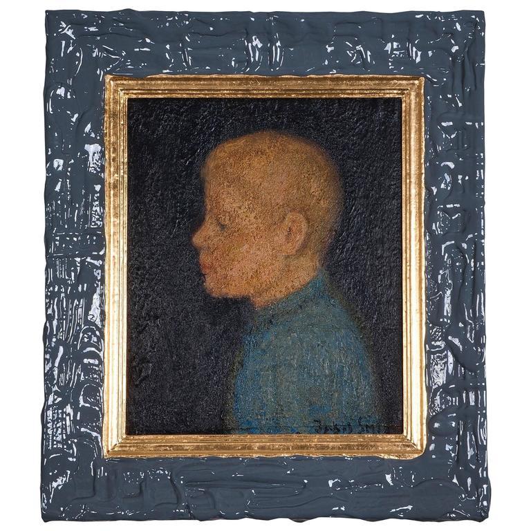 "Jakob Smits and Studio Job No. 71 ""Boy in Blue Shirt"", 1928"