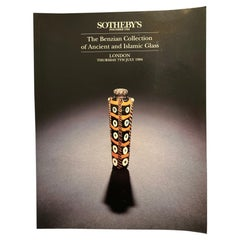 Sotheby's Antiquities Catalog Benzina Collection of Ancient Glass July 1994