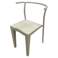 """Rare Grey Postmodern """"Dr Glob"""" Chair by Philippe Starck for Kartell, Italy, 199"""