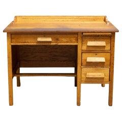 Early 20th C. Oak Writing Desk, c.1940