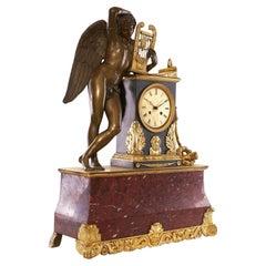 Mantel Clock 19th Century Louis Philippe Charles X Period