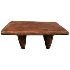 Andrianna Shamaris Antique African Senufo Coffee Table, Bench or Side Table