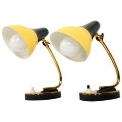 Petite Pair of Italian Table Lamps