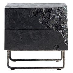 Set of 2 Wooden Black Bedside Tables, Perfect Item for Your Bedroom