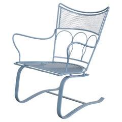 Mid-Century Modern Salterini Springer Rocker Patio Lounge Chair