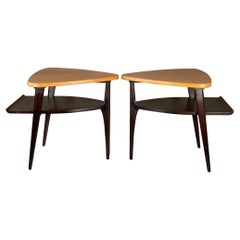 Cork Top End Tables by Paul Frankl