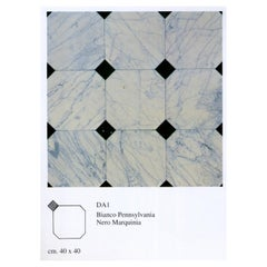 21st Century by Up & Up Italian Polichrome Modular Marble Floor and Coating