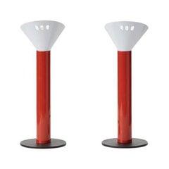 Pair of Postmodern Table Lamps Stilnovo, Italy c1980