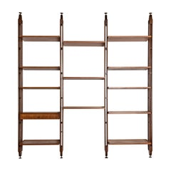 Bookcase Attributed to Paolo Tilche, Italy, 1960s
