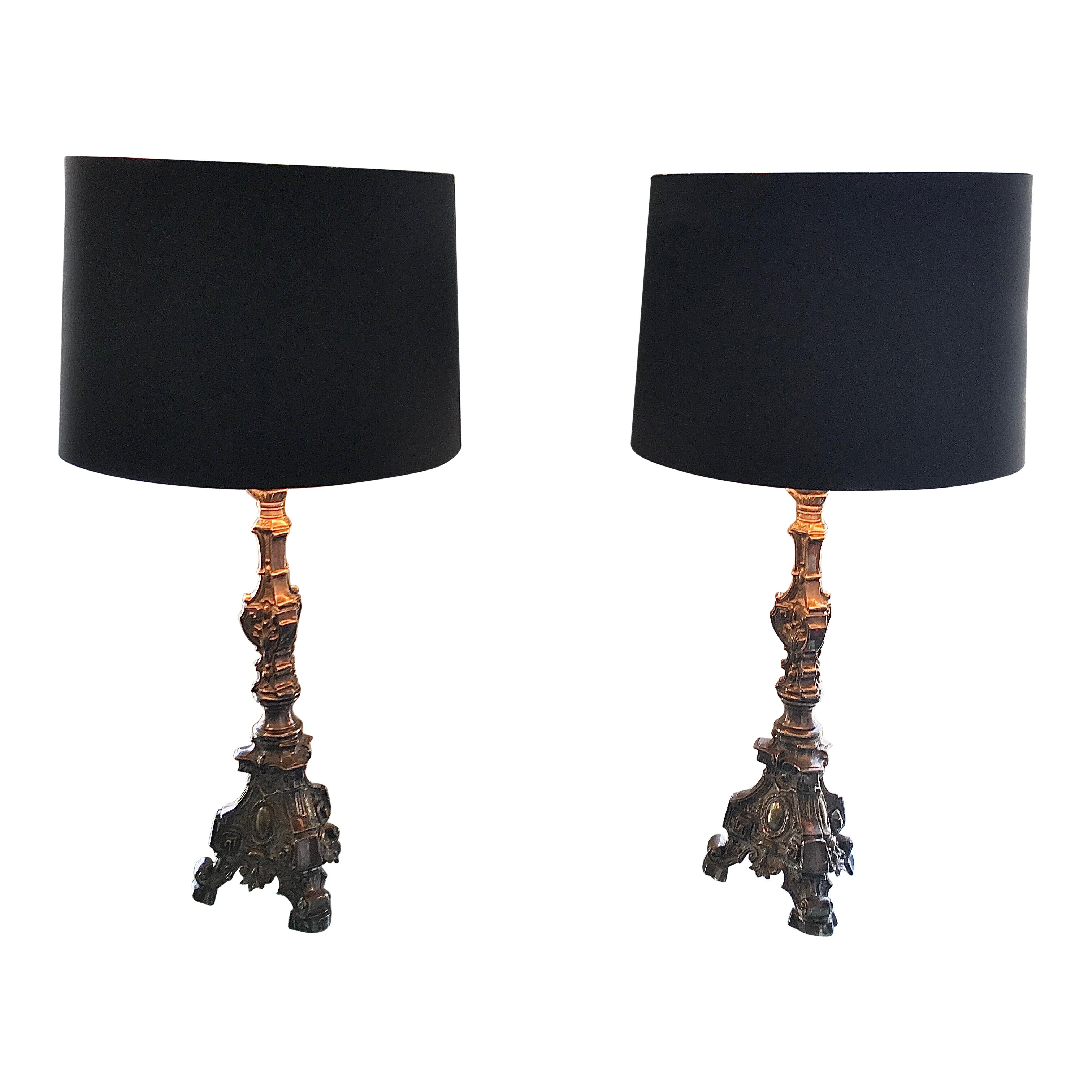 Pair of Early 20th Century Candelabras