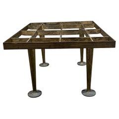 Arturo Pani Bold Modernism in Bronze Rectangular Side Coffee Table 1960s Mexico