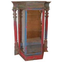 Large-Scale Antique Saint Display Case