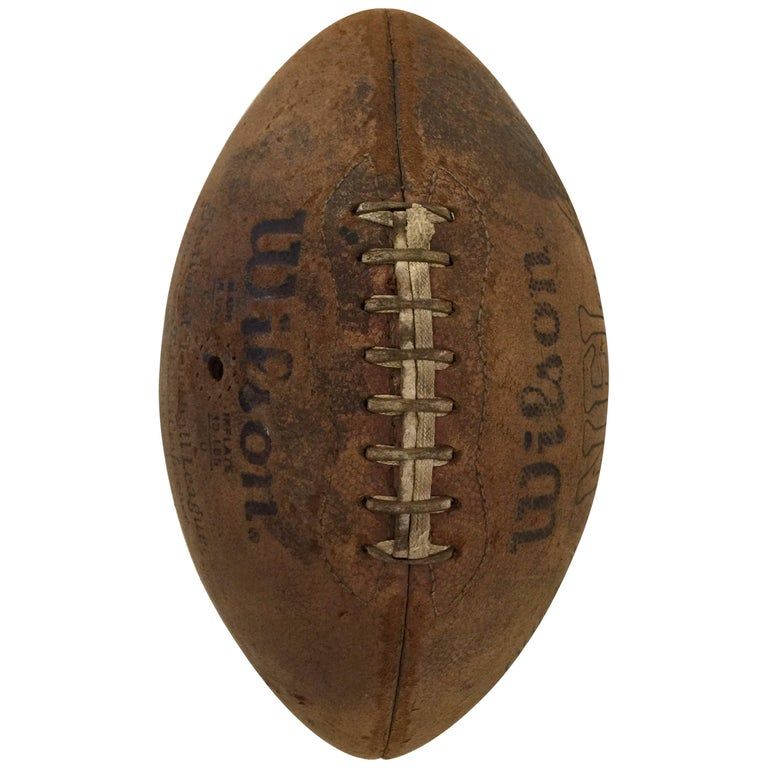 Vintage Pigskin Football by Wilson 1