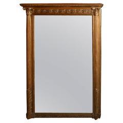 Giltwood Louis XVI Style Mirror