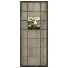 English Arts & Crafts Stained Glass Window