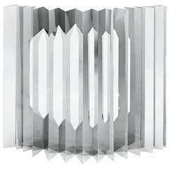 Camouflage Modular Screen Stainless Steel by Aranda/Lasch