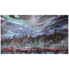 Dominik Modlinski Painting, Oil on Canvas