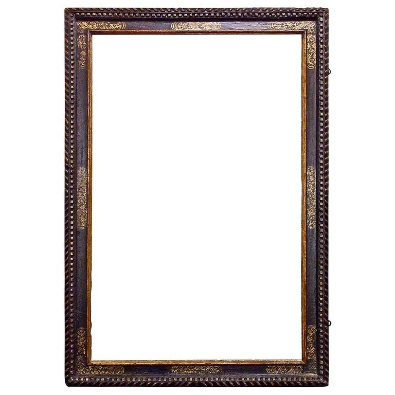 Glasses Frame In Spanish : Dramatically Large Carved, Gilded and Polychrome Spanish ...