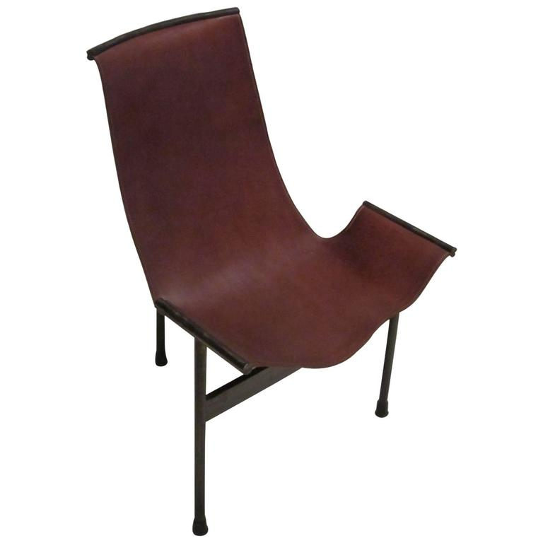 Leather and Iron T Chair, Contemporary, Spain