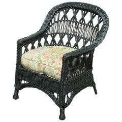 Bar Harbor Wicker Armchair