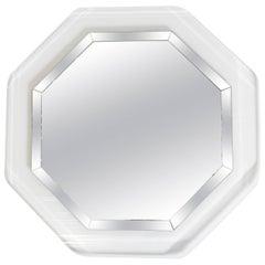 Octogonal Lucite Mirror