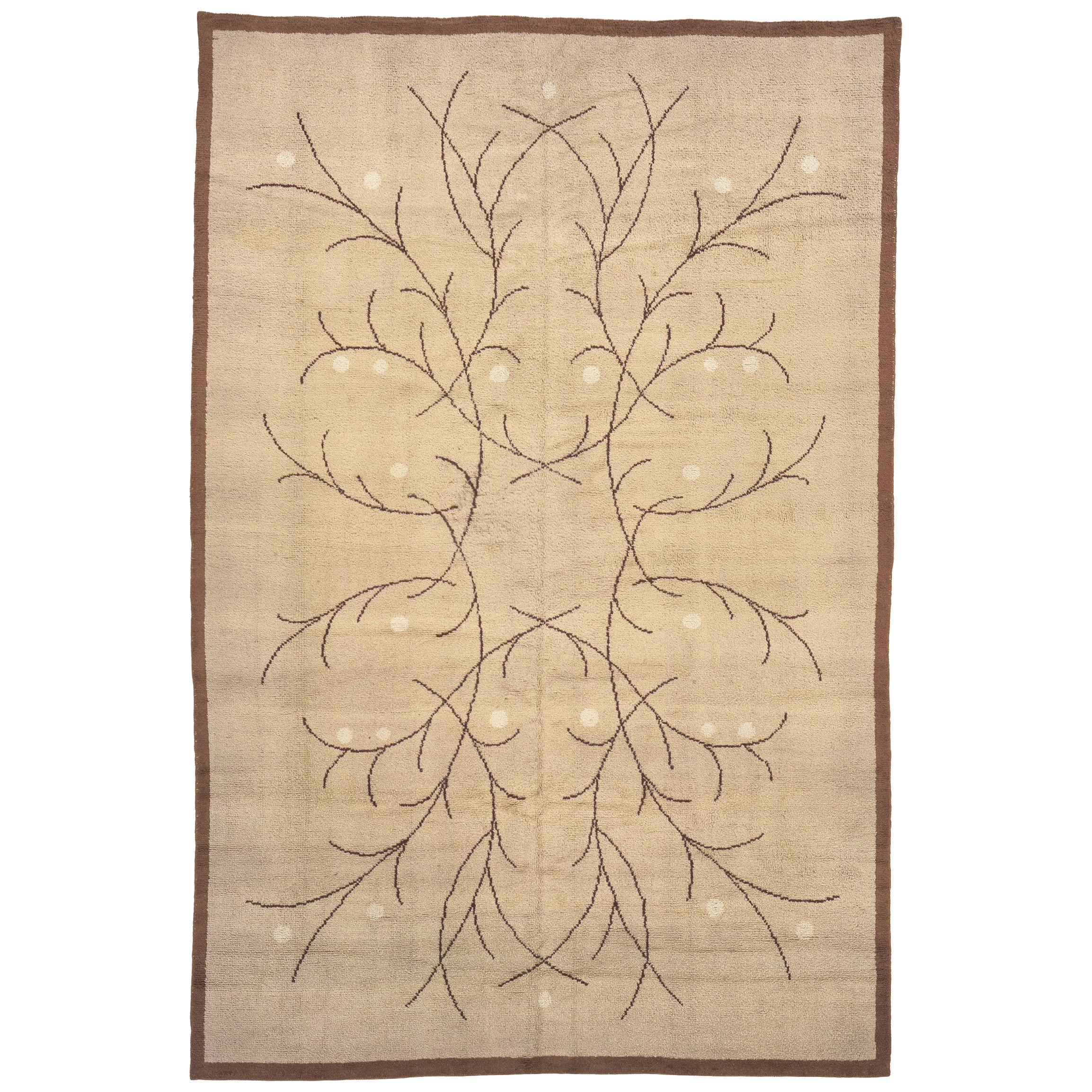 Mid 20th Century French Art Deco Carpet
