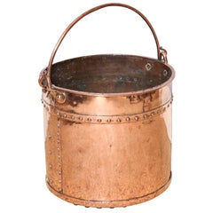 19th Century English Copper Apple Kettle