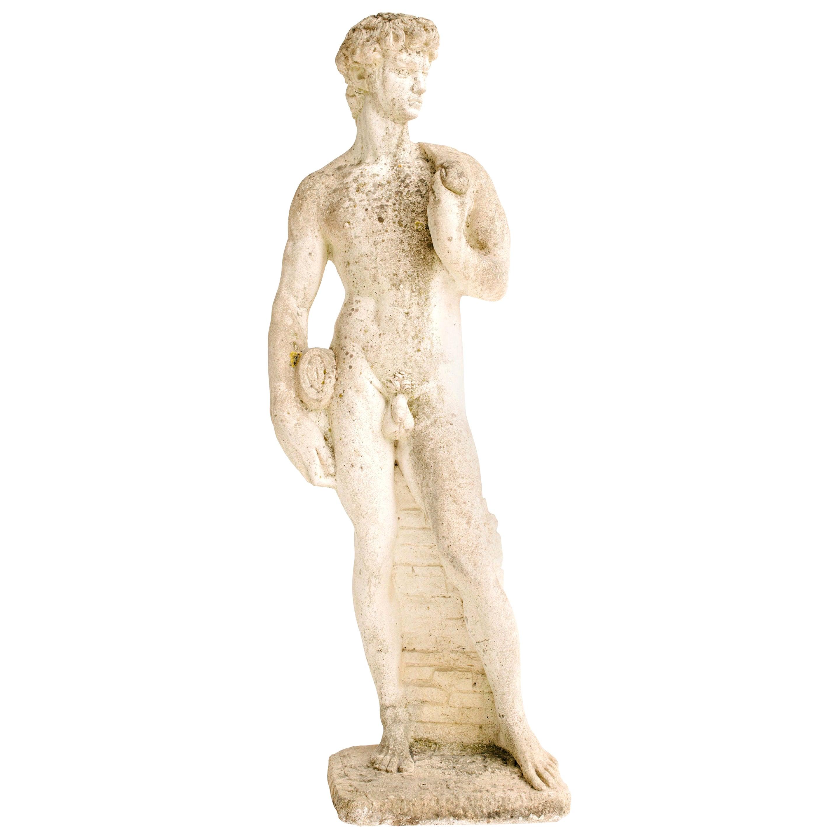 Garden Statue of David