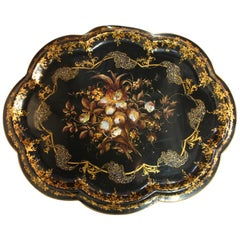 19th Century French Lacquered Tray