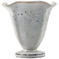 Kähler for HAK Glazed Stoneware Vase, 1930s