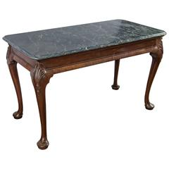 George II Mahogany Side Table