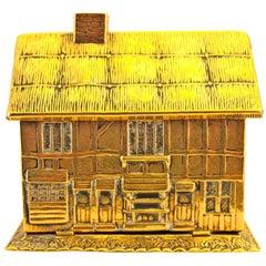 Antique Avery Needlecase of Shakespeare's House