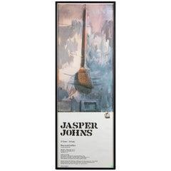 Vintage Jasper Johns Framed Lithograph Gallery Poster