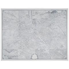 Large Map of Paris, France