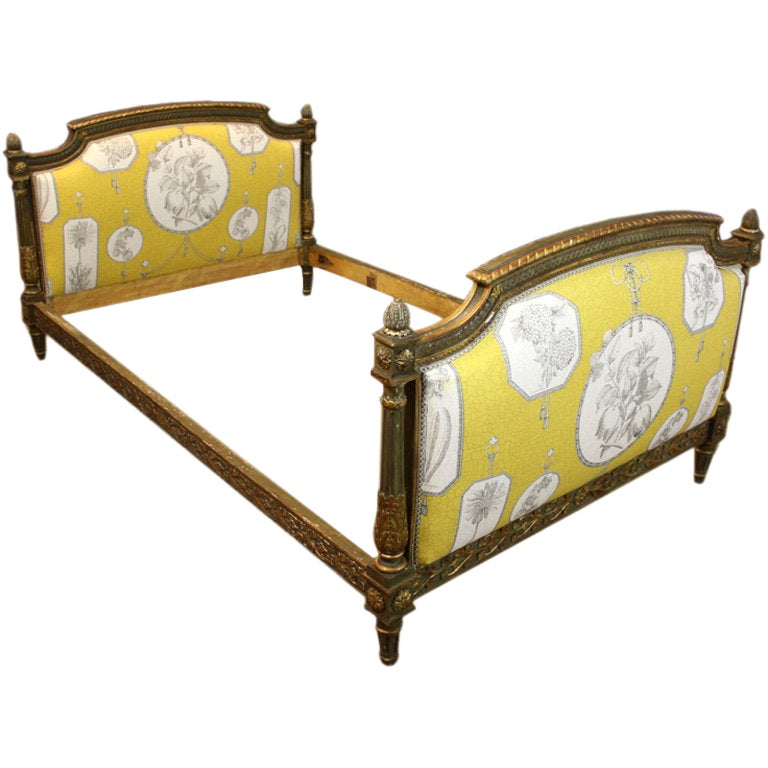 French Louis XVI Period Painted Daybed