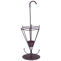 American Mission Wrought Iron Umbrella Stand