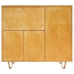 Cees Braakman Birch Series CB01 Cabinet or Cupboard Desk