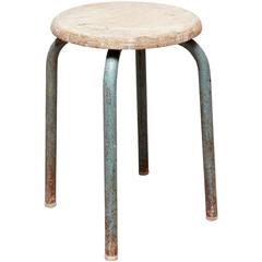 Stool Attributed to Jean Prouvé, circa 1950