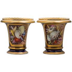 Pair of English Porcelain Vases, Coalport, circa 1820